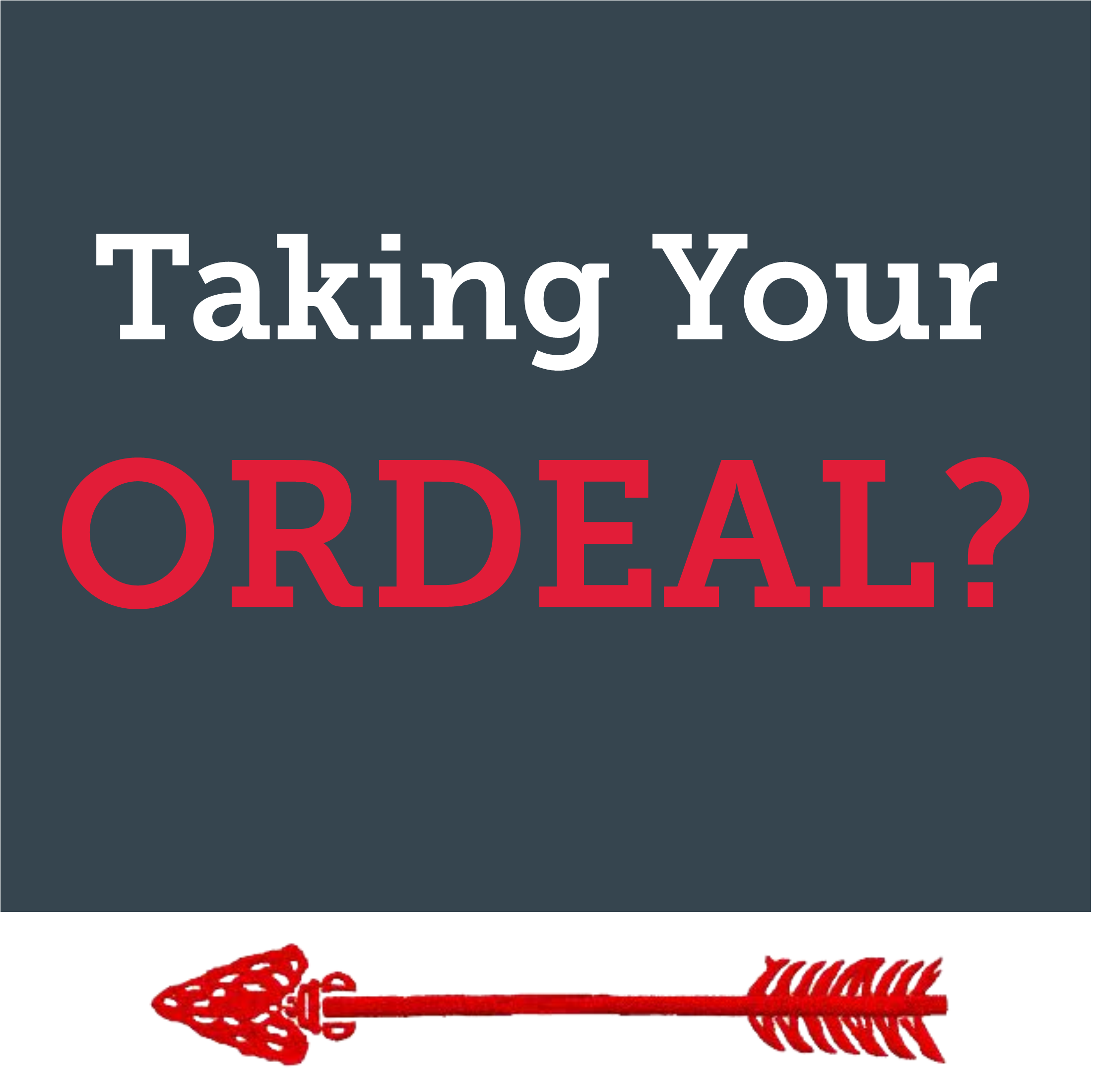 Ordeals: a selection of sites